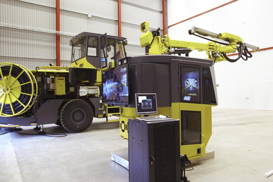 Atlas Copco, simulator